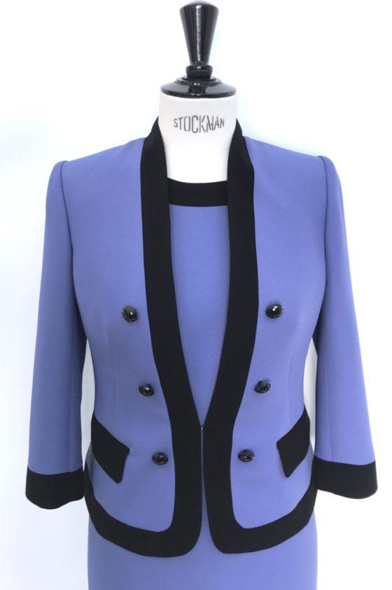 Сако синьо/лилаво